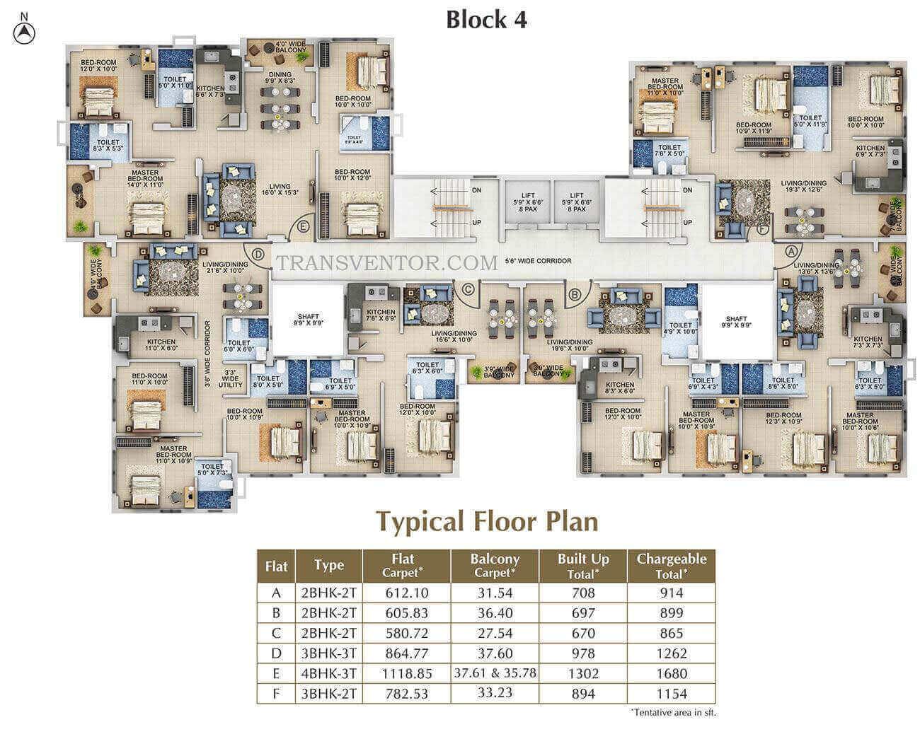 Signum Windmere Floor Plan 2