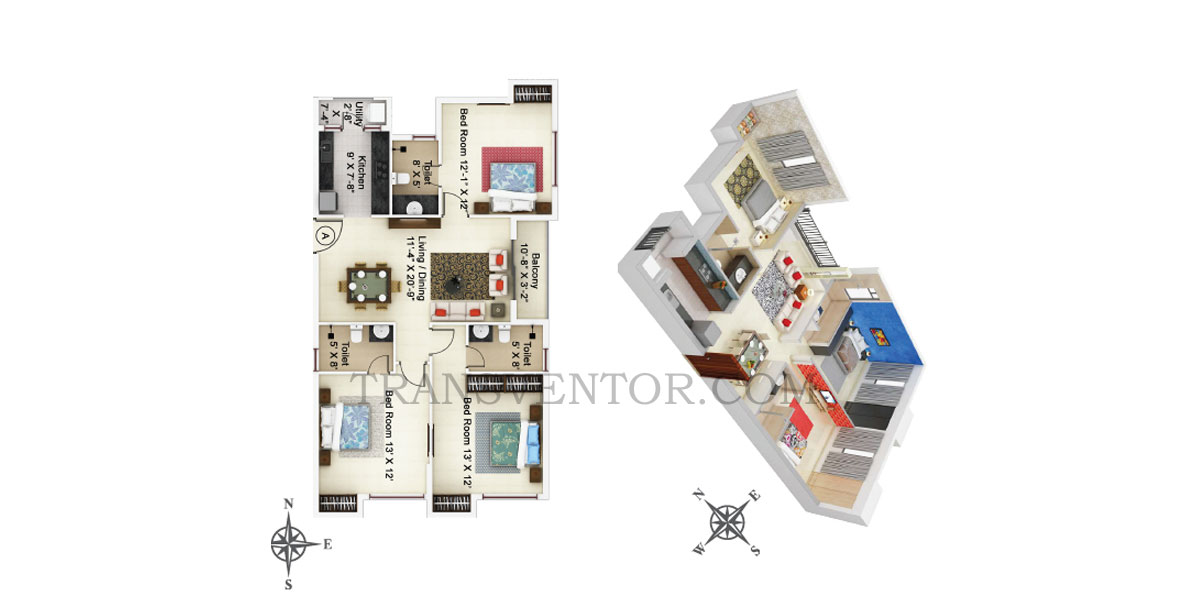 Ideal Paradiso Floor Plan 3