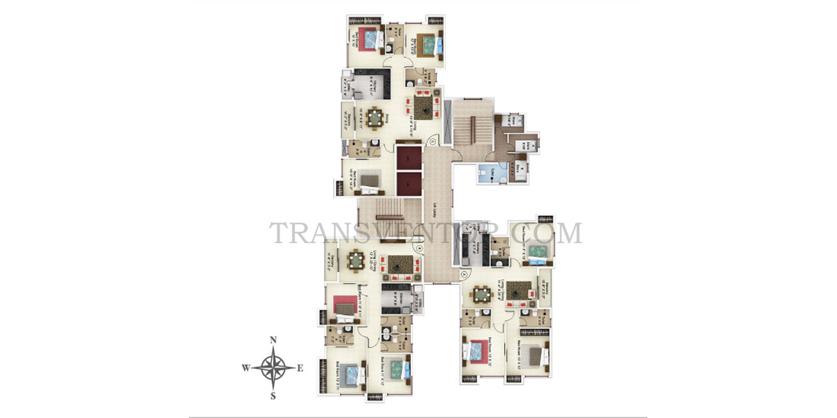 Ideal Paradiso Floor Plan 4