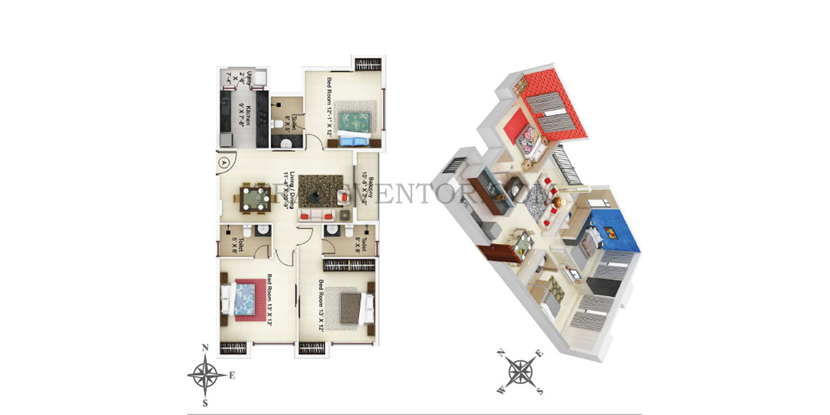 Ideal Paradiso Floor Plan 5