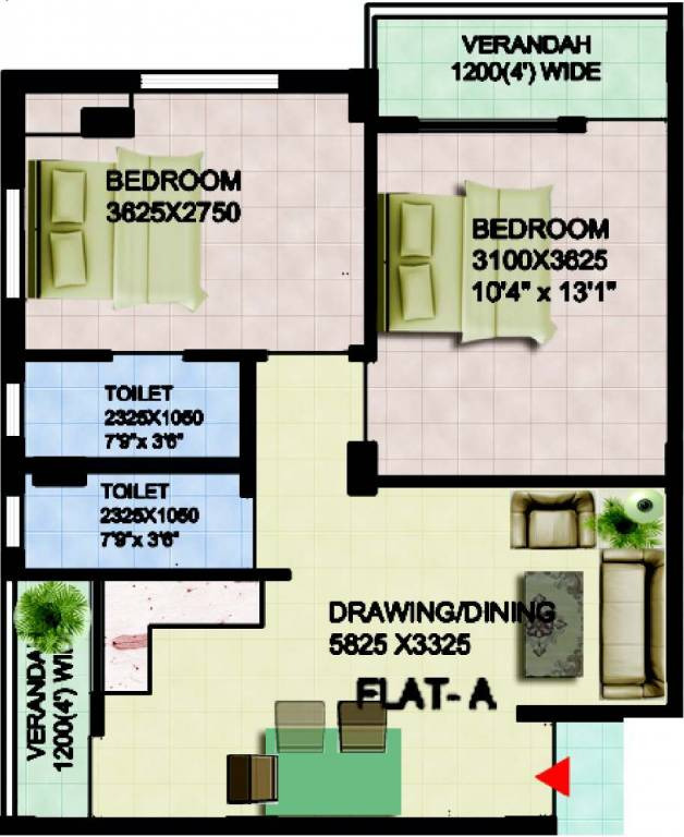 Doyeeta Floor Plan 2