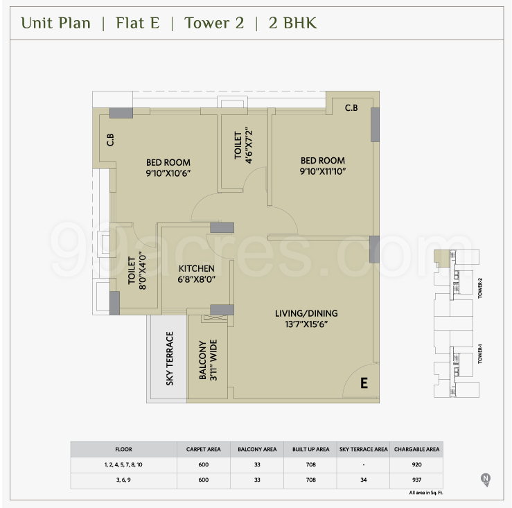 Ambika Icon Floor Plan 2