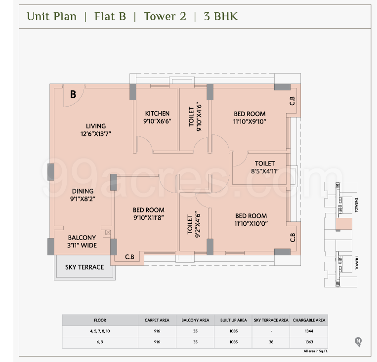 Ambika Icon Floor Plan 1