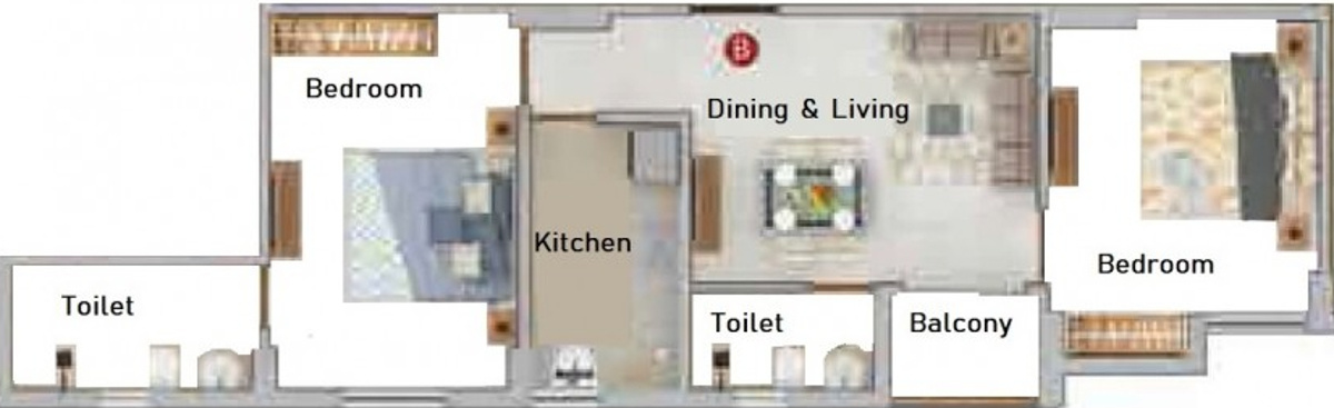 Merlin Iris Floor Plan 2
