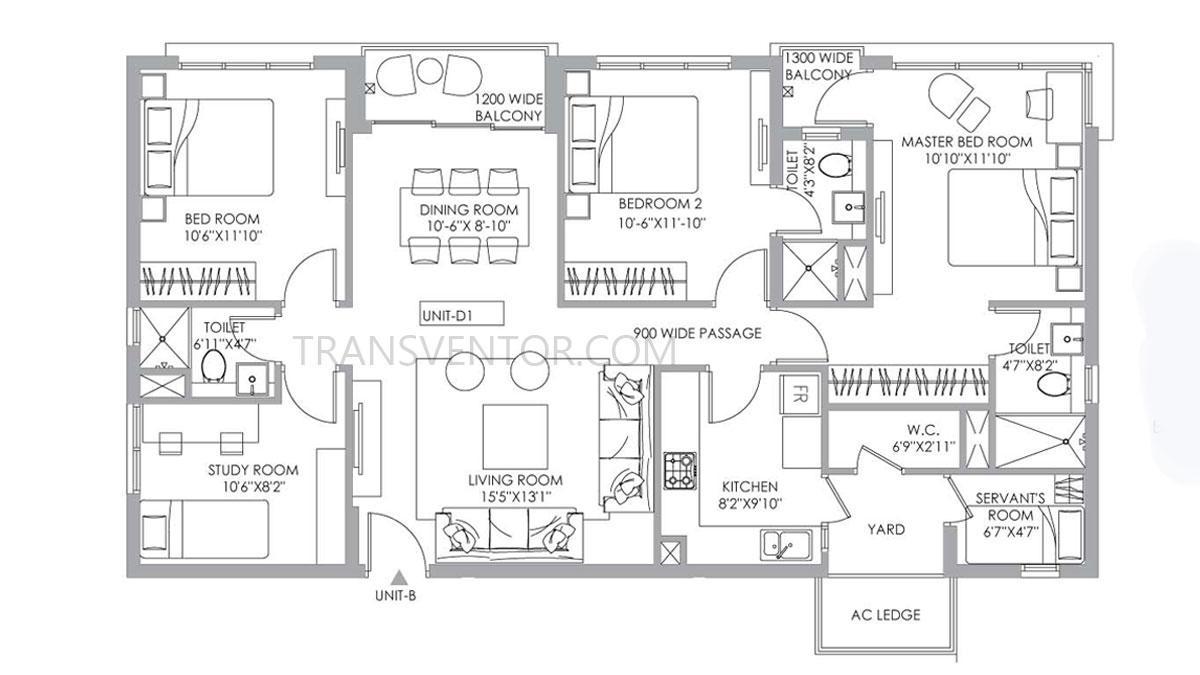 PS One 10 Floor Plan 12