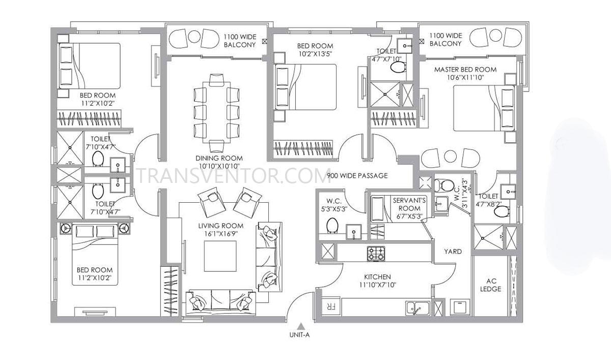 PS One 10 Floor Plan 13