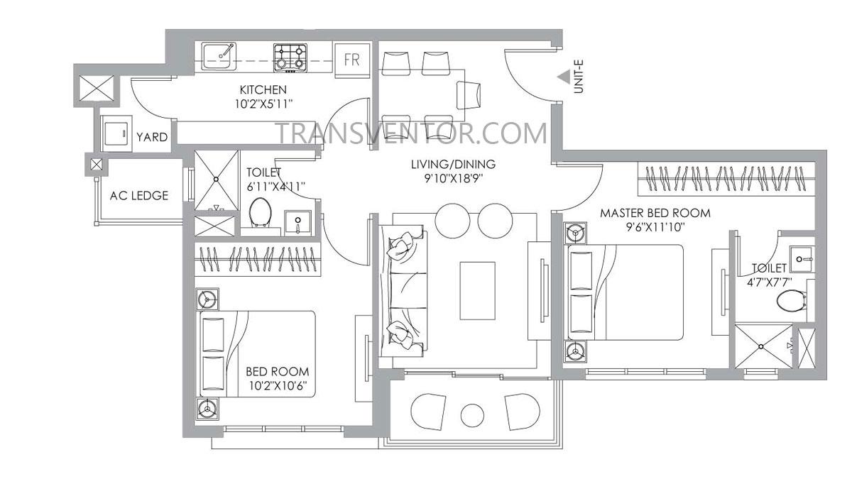 PS One 10 Floor Plan 2