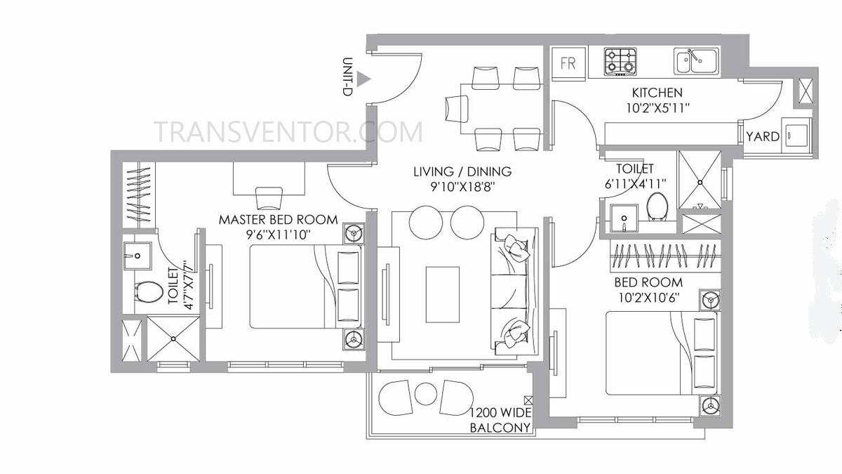 PS One 10 Floor Plan 3