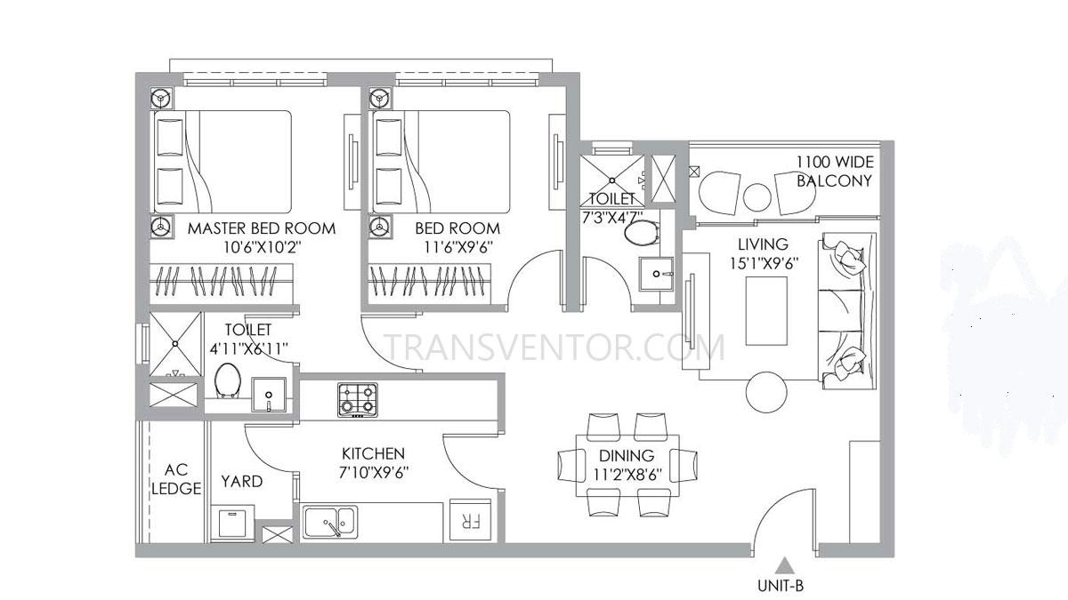 PS One 10 Floor Plan 4