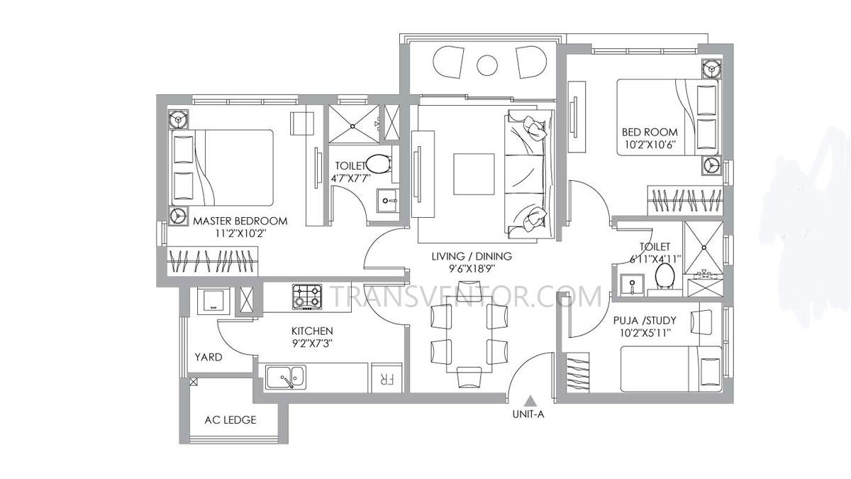 PS One 10 Floor Plan 5