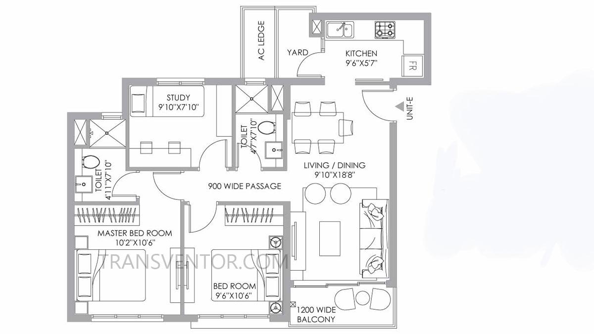 PS One 10 Floor Plan 6