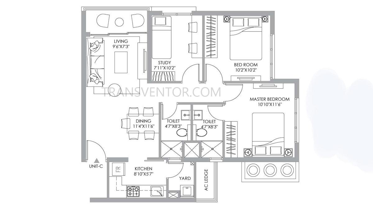PS One 10 Floor Plan 7