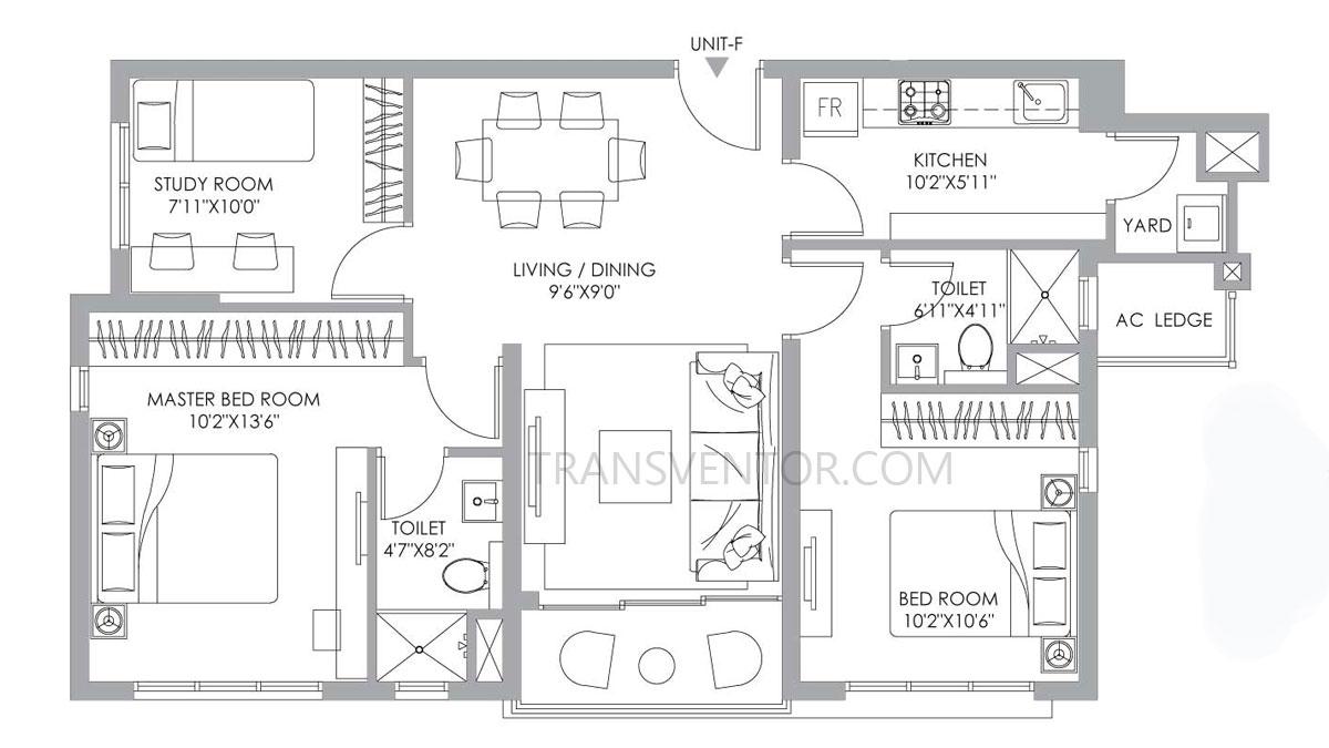 PS One 10 Floor Plan 9