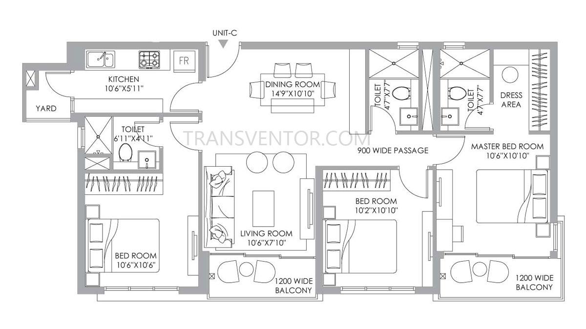 PS One 10 Floor Plan 10