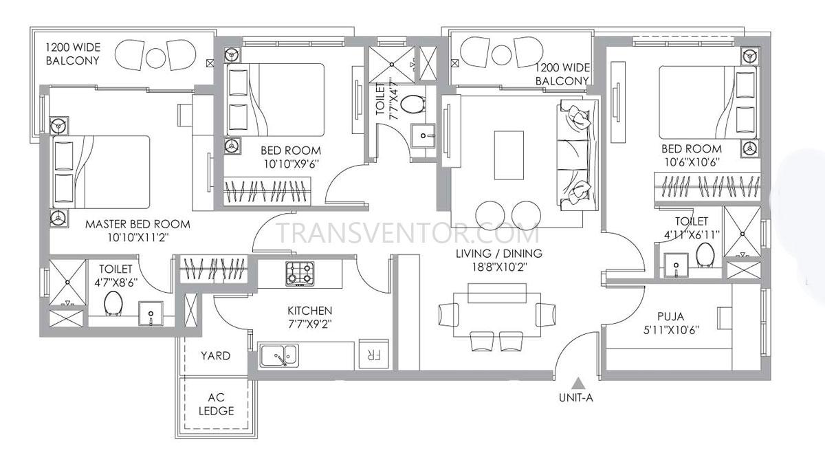 PS One 10 Floor Plan 11