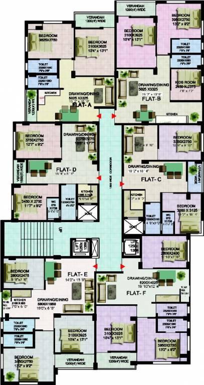 Doyeeta Floor Plan 1