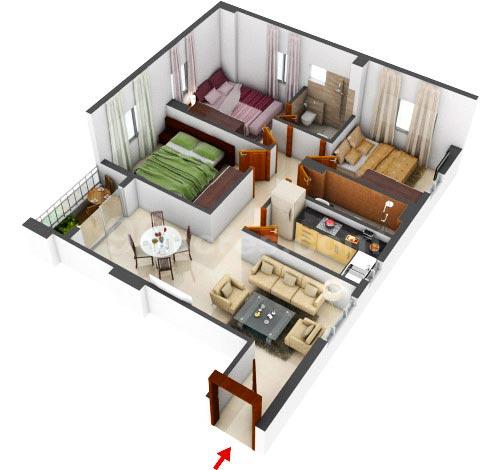 Meridian Splendora Floor Plan 2