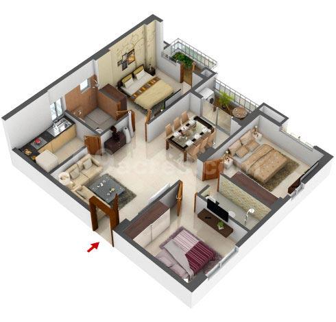 Meridian Splendora Floor Plan 3