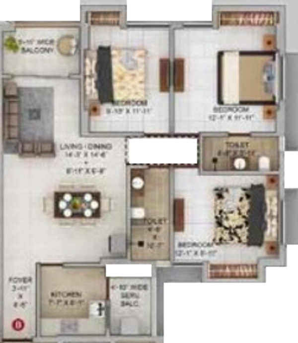 Merlin Urvan Floor Plan 4