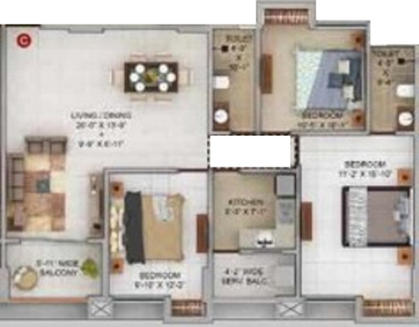 Merlin Urvan Floor Plan 6