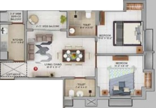 Merlin Urvan Floor Plan 1