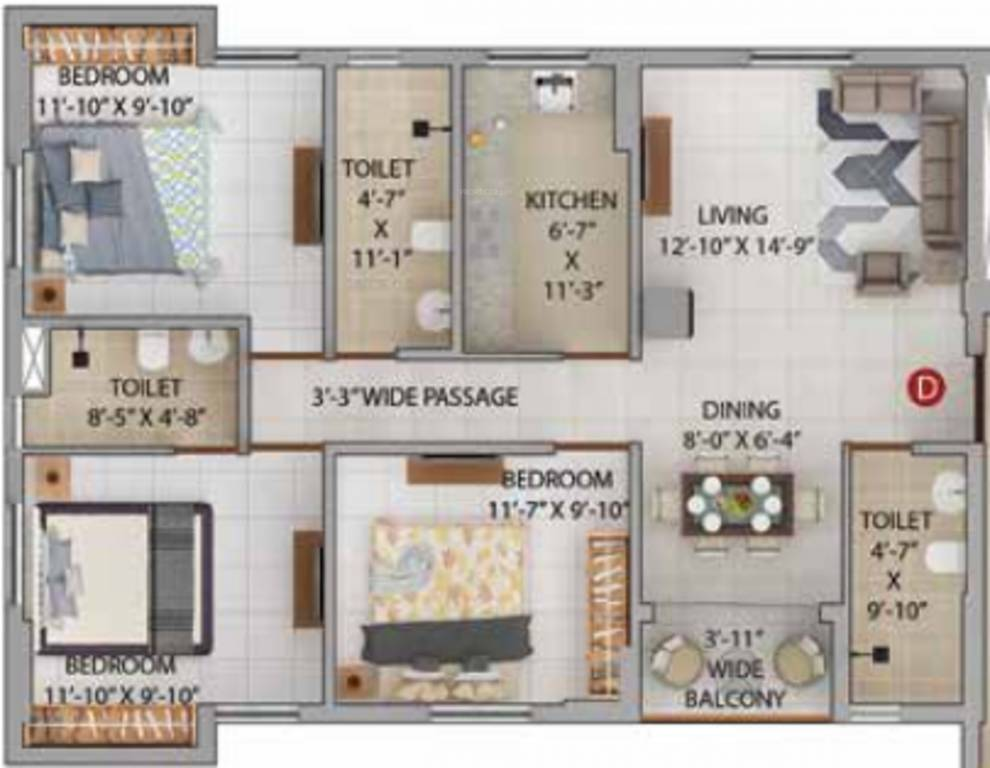 Merlin Iris Floor Plan 3