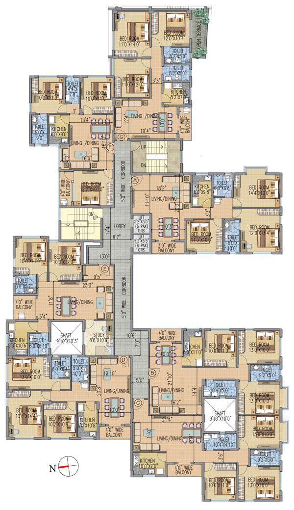 Urban Greens phase 2A Floor Plan 2